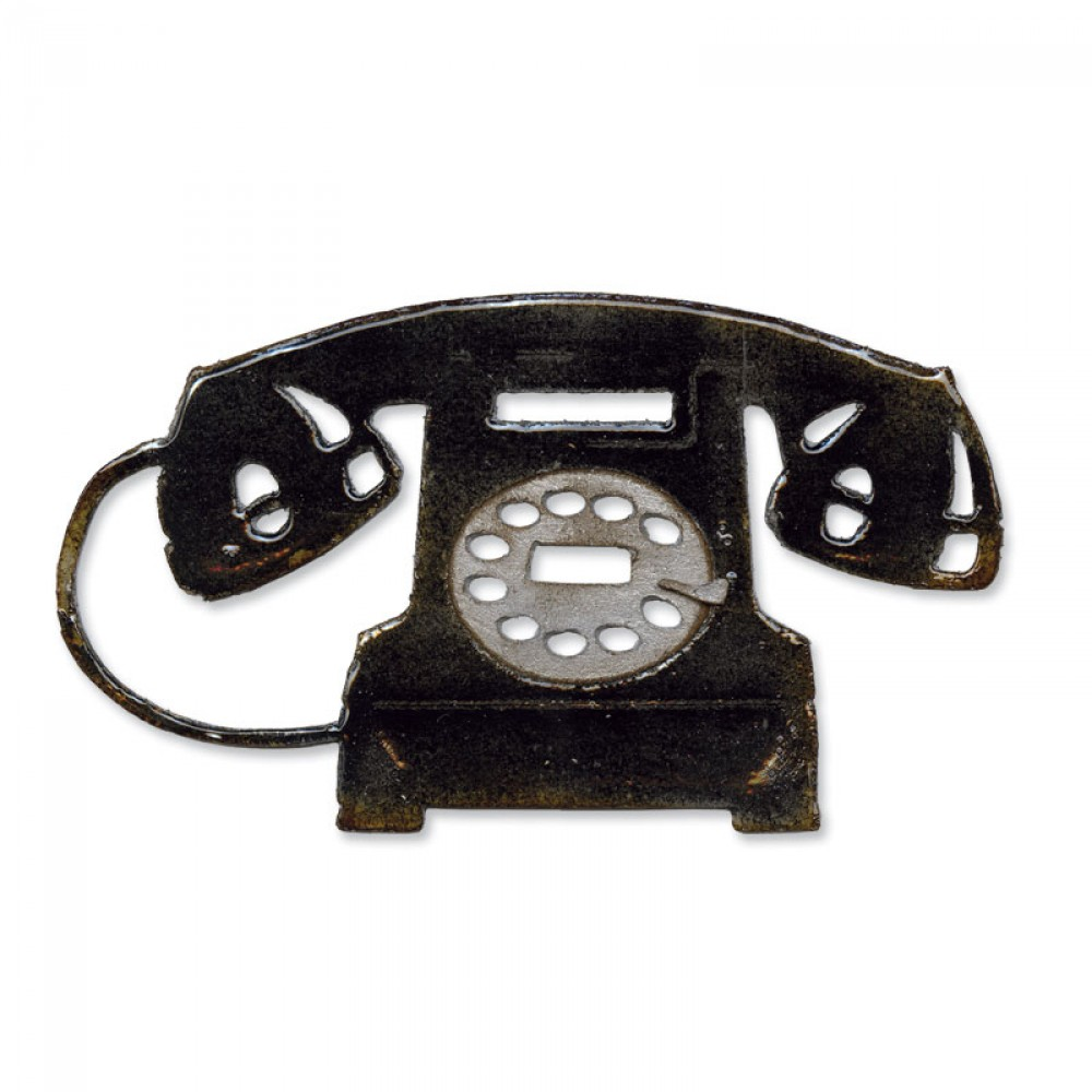 Foto de Sizzix Bigz Die - Vintage Telephone
