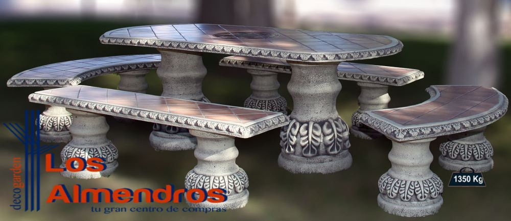 Foto de Comedor Azulejos Bizantino Ovalado
